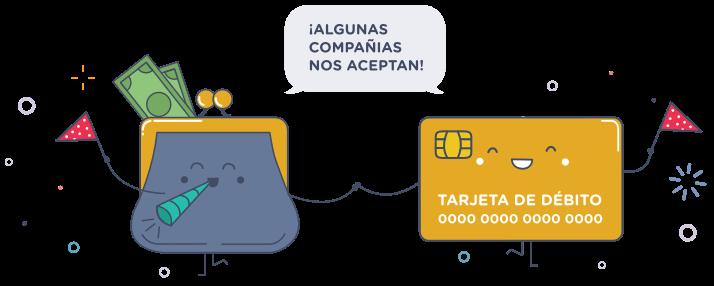 Con algunas compañías puedes alquilar con tarjeta de débito