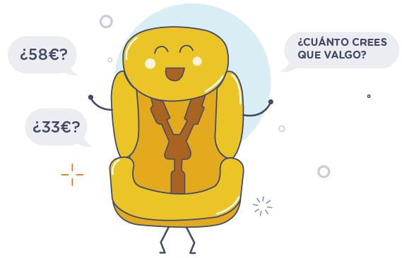 Precios de alquiler de sillitas en España