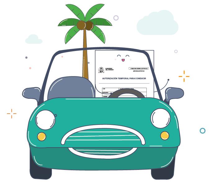 Alquilar coche por Europa con carnet provisional